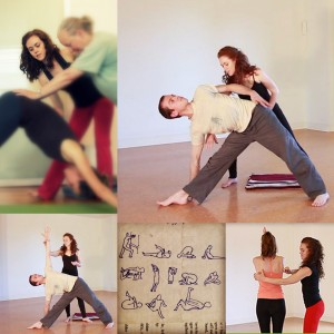 yoga adjustments physical therapy physiotherapy asana alignment exercise