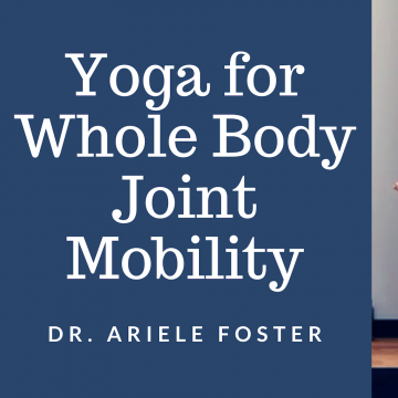 cover art for Yoga for Full Body Joint Mobility class on YouTube